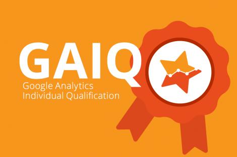 Сдал тест Google Analytics Individual Qualification